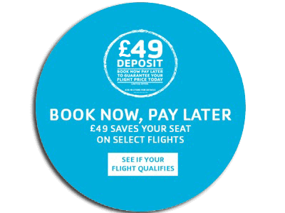 Cheap flight zone world wide cheap airfares from uk for Book now pay later flights